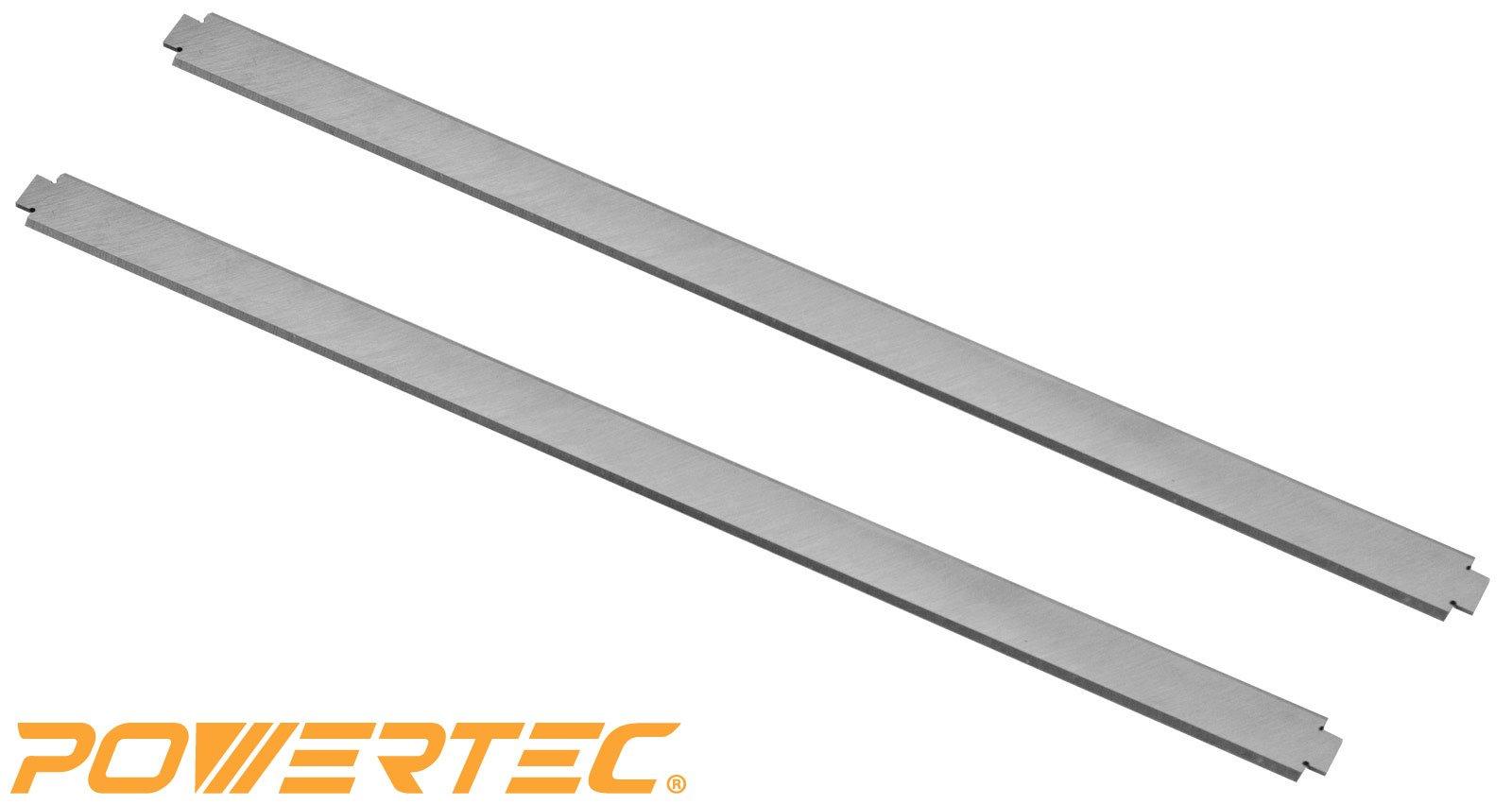 POWERTEC HSS Planer Blades for Ryobi 13'' Planer AP1301, Set of 2