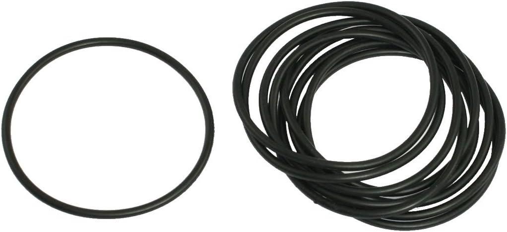 10/x schwarz 55/mm OD 50/mm Inner Dia Nitrilkautschuk O-Ring Oil Seal Dichtung