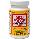 Mod Podge CS11301 Waterbase Sealer, Glue and Finish, 8 oz, Matte