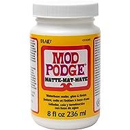 Mod Podge CS11301 Waterbase Sealer, Glue and Finish, 8 oz, Matte
