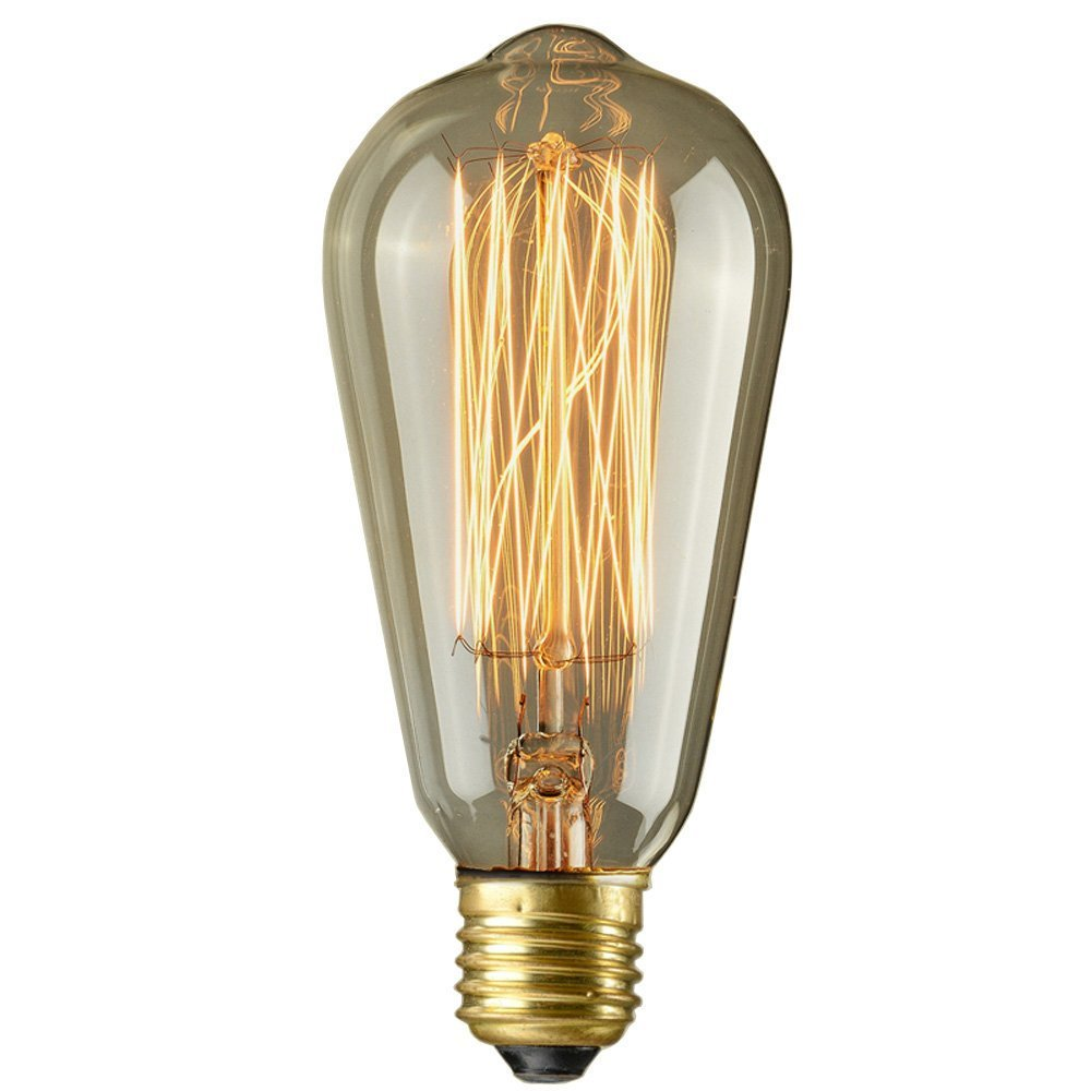 Teardrop st64 william and watson vintage edison bulb industrial light - Amazoncom Brightech Ambience Pro Vintage Outdoor String Lights 48 Ft Commercial Grade Edison Market Hanging Cafe Bistro Waterproof Light