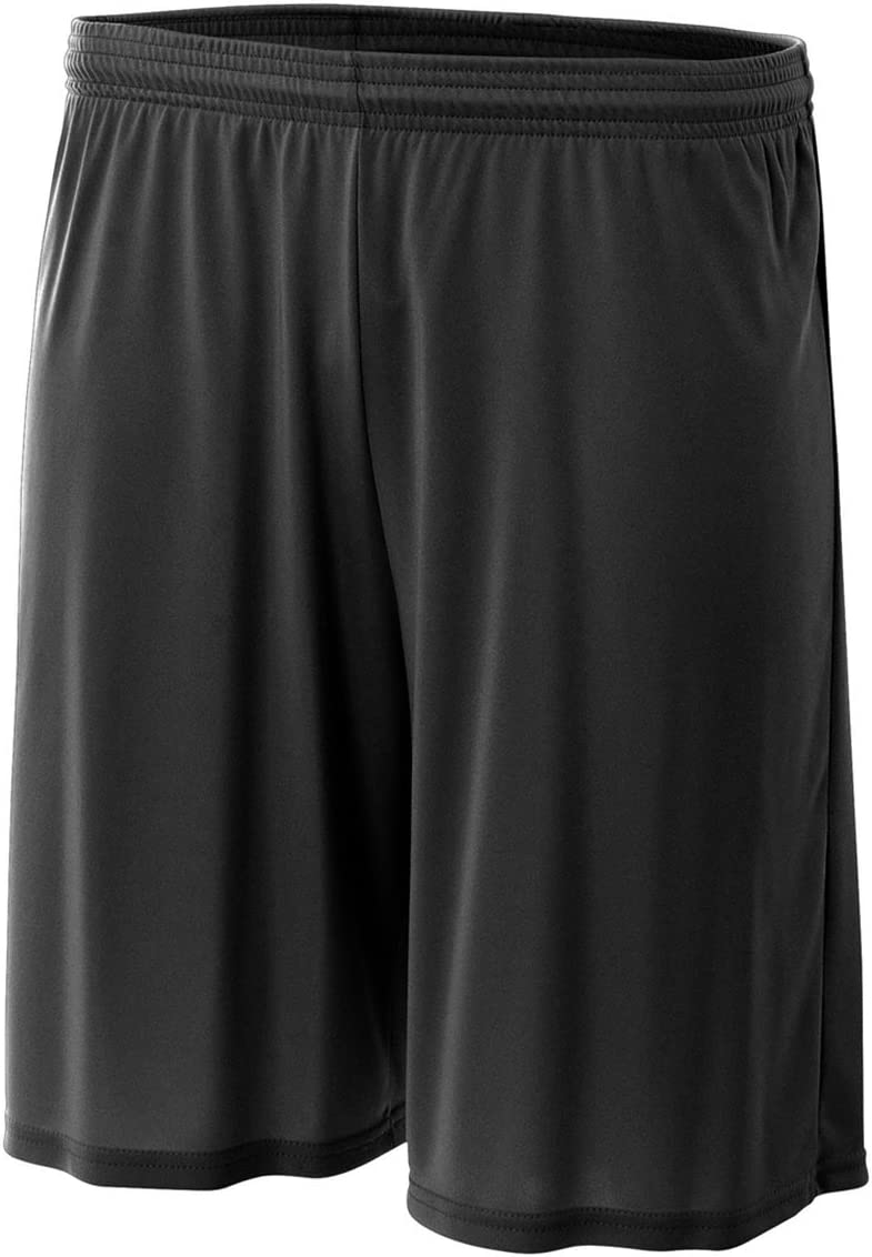 """Athletic Performance All Sports Shorts Moisture Wicking, UPF 30+, No Pockets (14 Colors, Youth 6"""" & Adult 7"""" & 9"""")"""