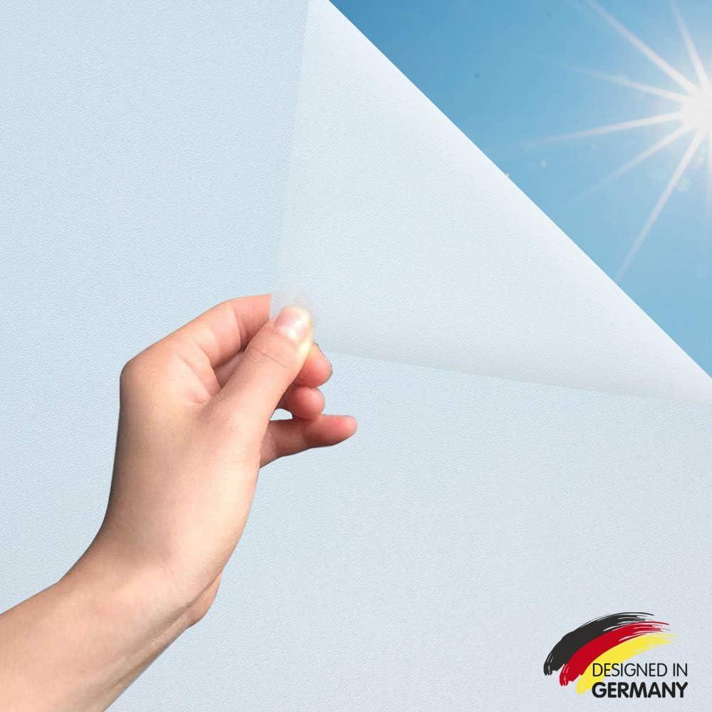 Marapon Fensterfolie Selbsthaftend Blickdicht In Weiss 75x200 Cm