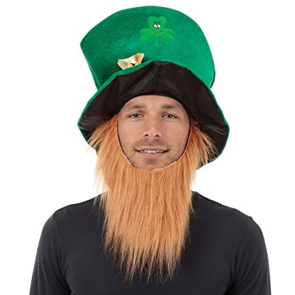Amazon.com  Bristol Novelty BH474 Irish Hat and Beard aab4b943223