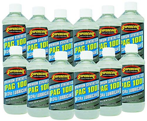 TSI Supercool P100-8-12CP PAG 100-Viscosity Oil - 8 oz, 12 Pack