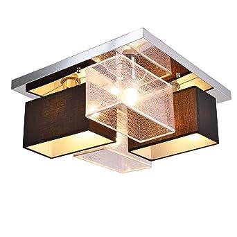 Fácil textil Modern Home Lámpara de techo - Lámpara de techo ...