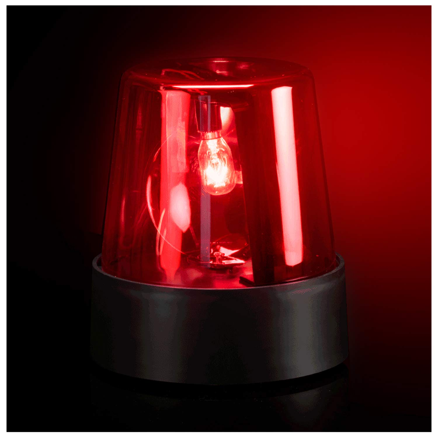 Police Beacon Light - Red - (1 Pack)