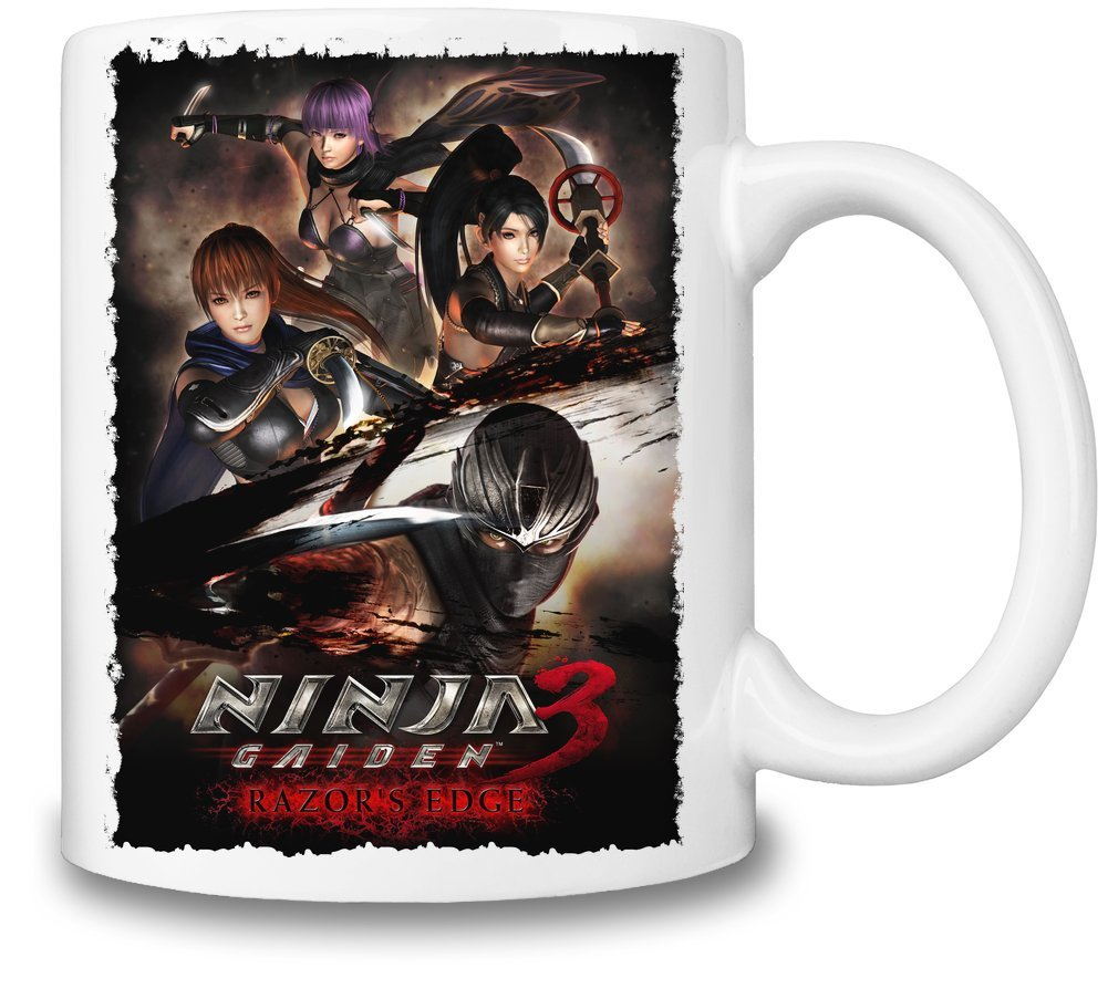 Ninja Gaiden 3 Poster Taza Coffee Mug Ceramic Coffee Tea ...