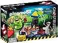 Playmobil 9222 - Slimer e il Carretto degli Hot Dog, 2 Pezzi