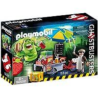 Playmobil Slimer e Il Carretto degli Hot Dog, 2 Pezzi, 9222