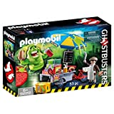 Playmobil 9222 Ghostbusters™ Hot Dog Stand with Slimer