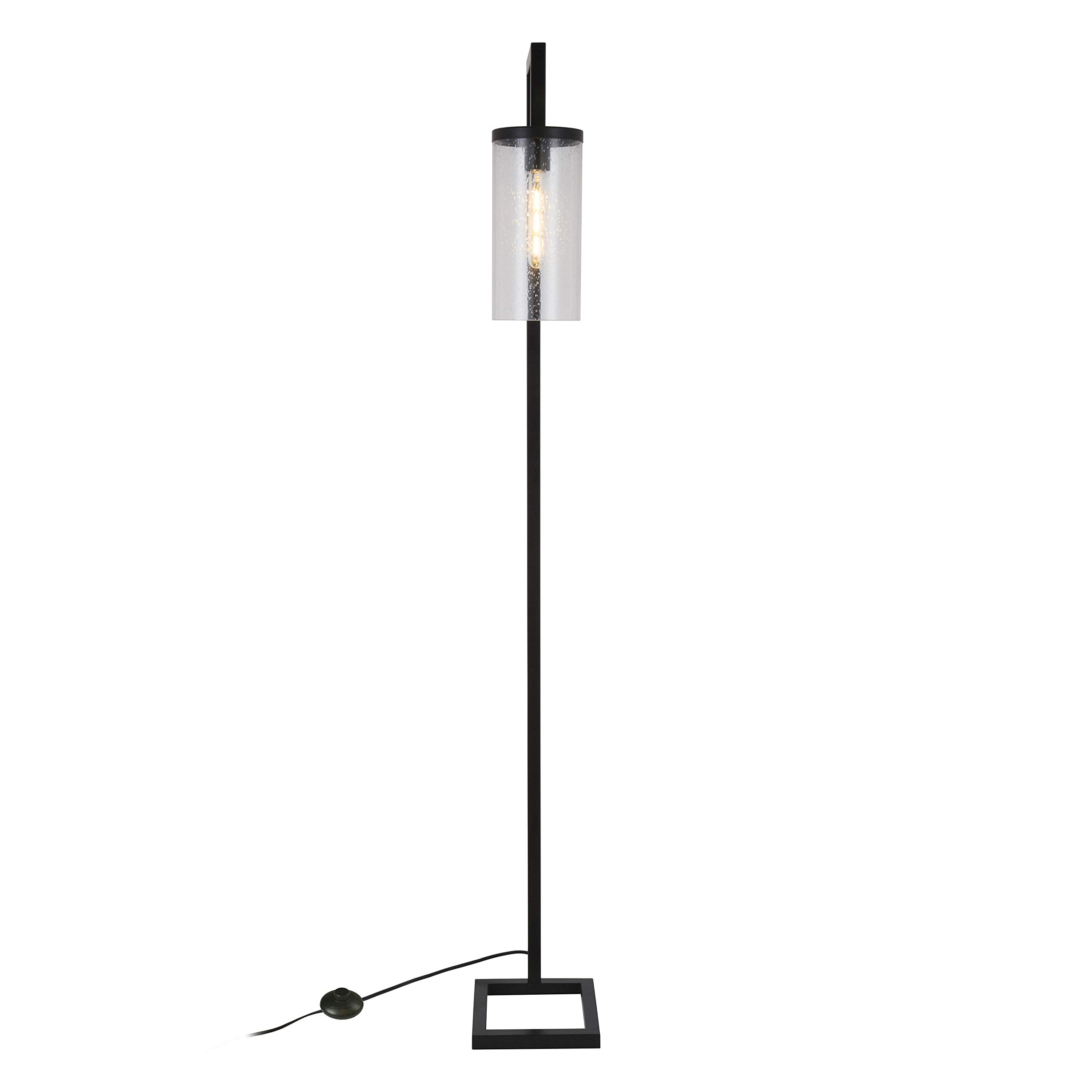 Henn&Hart FL0014 Modern Farmhouse seeded Task Lamp, One Size Black by Henn&Hart (Image #8)