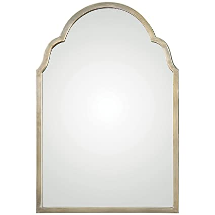 Finest Amazon.com: Uttermost 12906 Brayden Petite Arch Mirror, Silver  FR21