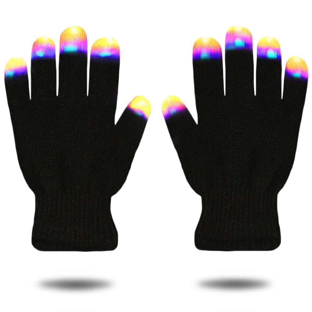 Guantes de Luz LED Intermitentes Geniales - Los Mejores Regalos