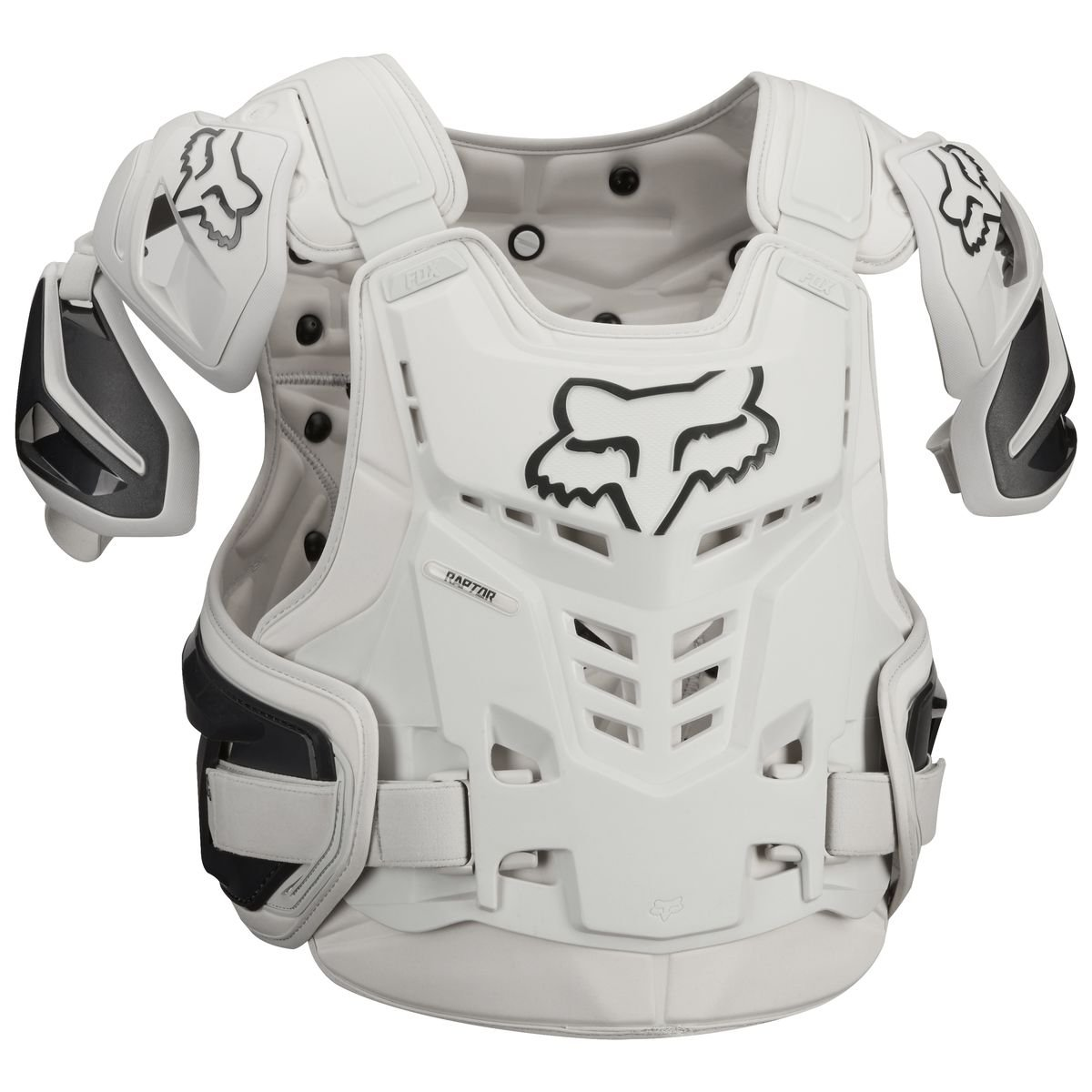 Fox Racing Adult Raptor Vest-Light Grey-S/M