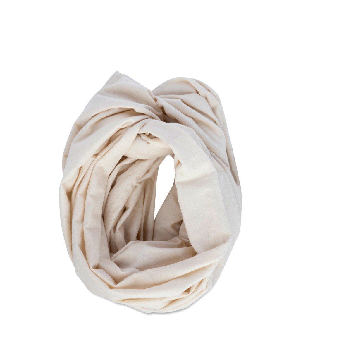 Cat & Dogma Organic Infinity Nursing Scarf, Natural Ivory