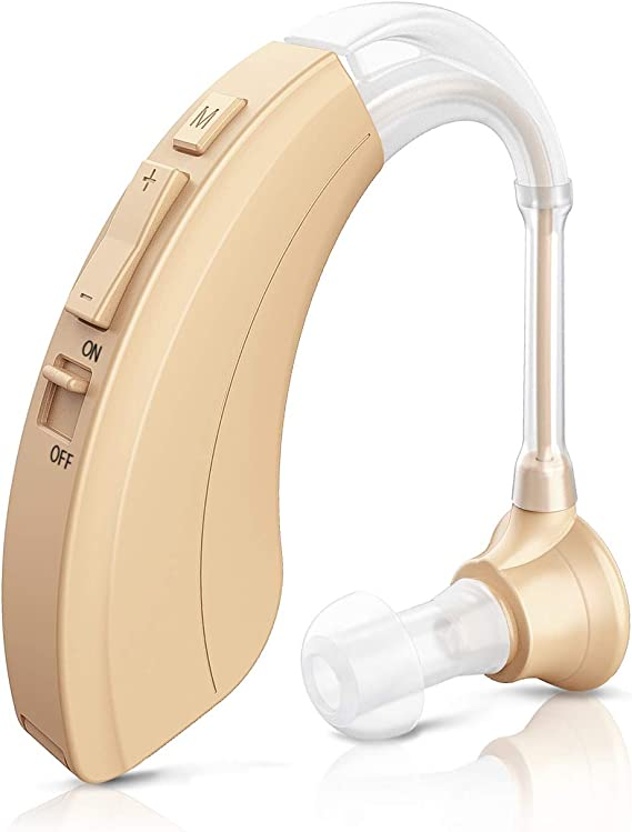 Blomed Hearing Amplifier - Digital Personal Sound Enhancement Device for Adults and Seniors