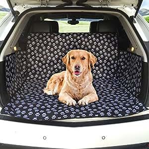 Car Boot Liner Protector MATCC Pet Cover Liner Protector Durable Waterproof Pet Car Back Seat Cover Fits Most Cars, SUV, Vans & Trucks