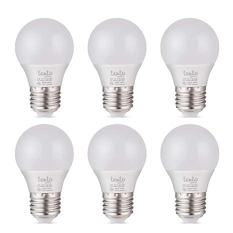 12 Volt LED Bulbs E26 Base 12vdc 12v Light Bulbs RV Lighting Off-Grid Cabin  Low Voltage Lights (12 Volt Daylight White 6 Pack)