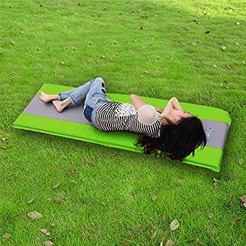 Al aire libre Camping Mat tienda de campaña para ambientes húmedos colchón cama múltiples agujeros transpirable más grueso esponja saco de dormir ...