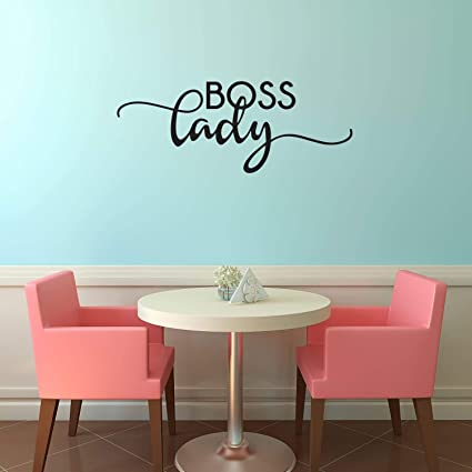 Amazon Boss Lady Inspirational Women's Quotes Wall Art Decal Delectable Quotes Wall Art