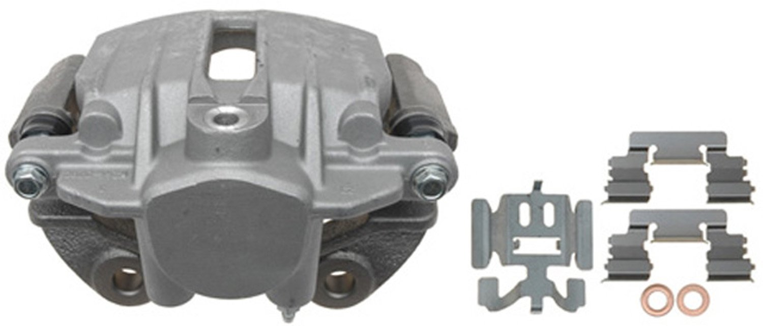 ACDelco 18FR1383 Professional Durastop Rear Passenger Side Disc Brake Caliper Assembly without Pads (Friction Ready), Remanufactured