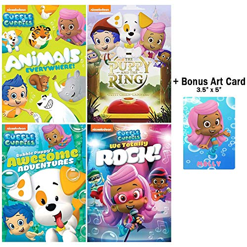 Bubble Guppies: The Molly Collection - Over 15 Episodes + Bonus Glossy Art Print