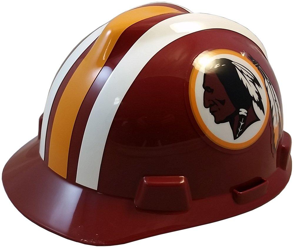 MSA NFL Ratchet Suspension Hardhats - Washington Redskins Hard Hats by MSA (Image #1)