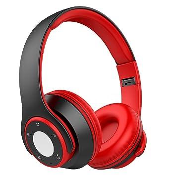 Nicksea Auriculares Inalámbricos Bluetooth con Función 4 en 1, NickSea Auriculares Diadema Audio de Alta Fidelidad y HiFi, CVC6.0 Reducción de Ruido para ...