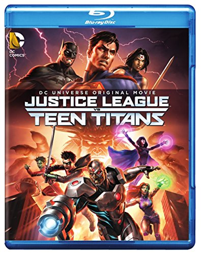 Justice League vs Teen Titans (Blu-ray + DVD + Digital HD UltraViolet Combo Pack)