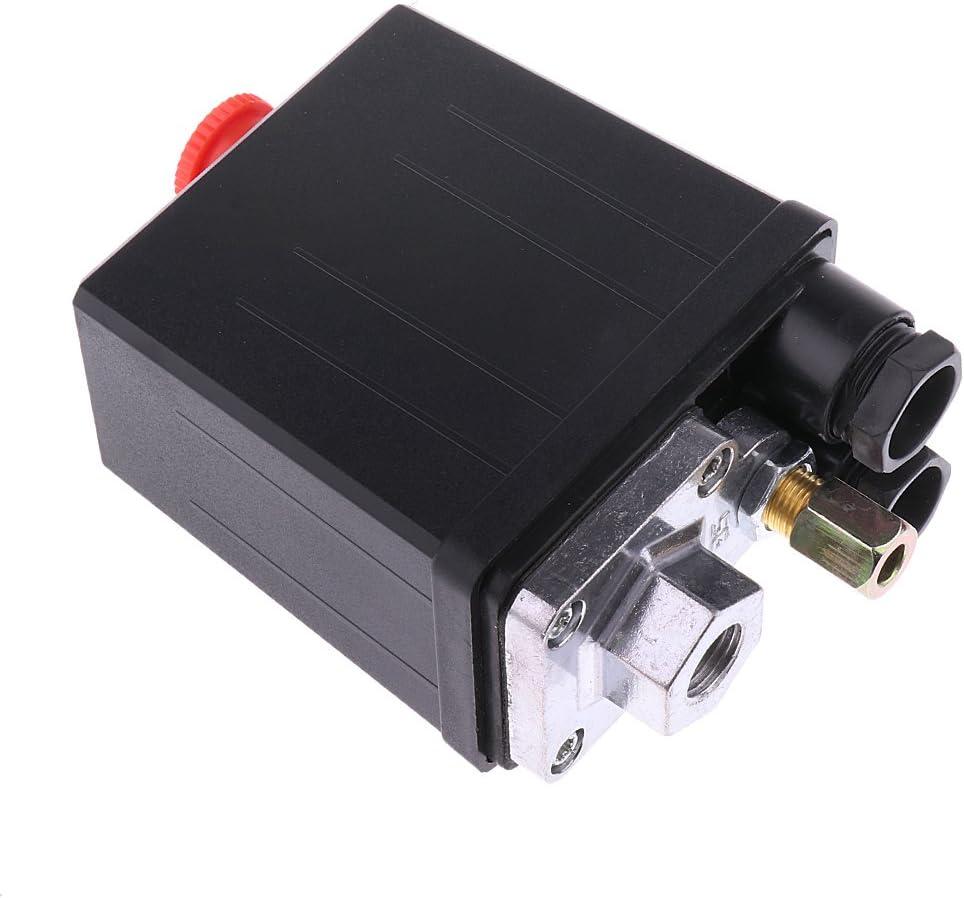 Uniporous Compresor De Aire De Control del Interruptor De Presión 175psi Válvula 240v: Amazon.es: Electrónica