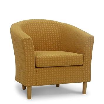 Fabric Tub Chair - Bucket Seat - Classic Tub Chairs Design - Harvest ...