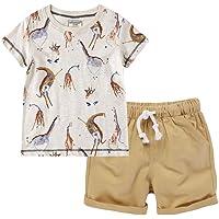 2-8 Años,SO-buts Pequeños Bebé Niños Ropa Dormir Verano Chándal Camiseta Estampado Dibujos Animados Tops Pantalones…