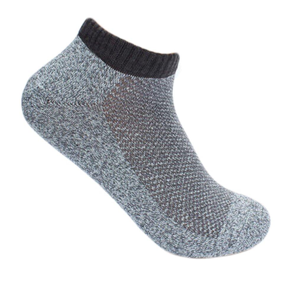 Light Gray PANDA SUPERSTORE Mens Casual Sports Socks
