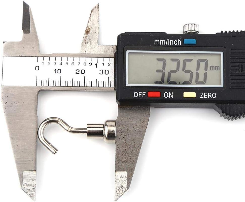 10mm Magnethaken 10 Teile//satz Praktische Schwere Aufh/ängehaken Leistungsstarke Magnethaken Drinnen Organisation Werkzeuge