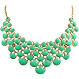 Amazon Price History for:Jane Stone Best Selling Newest Fashion Necklace Vintage Openwork Bib Statement Jewelry