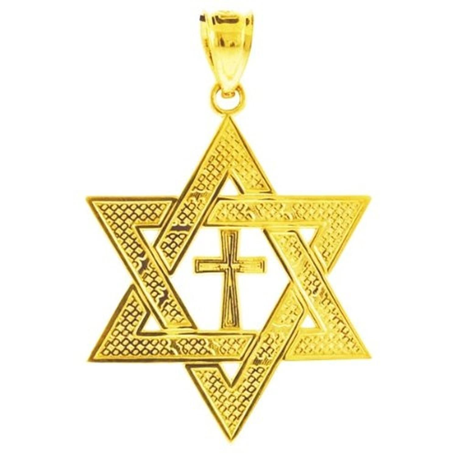Star Of David Pendant Gold Choice Image Home And
