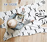 Tiger Blanket Animal Carpet Play Mats Autumn Winter Car Children Floor Kids Crawling Rugs Baby Game Pad For Games Puzzle Soft Toy