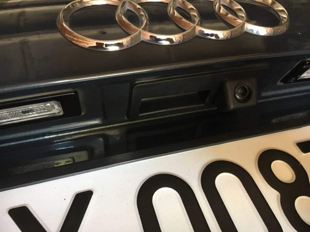 Imperm/éable /à leau de Vision Nocturne Tronc Poign/ée de Voiture Cam/éra de Recul de Vue Arri/ère pour VW Touran L//Tiguan L//Teramont//C-TREK Touran//Audi A4L //Skoda Superb 3V Skoda Octavia 5E 2016-2018