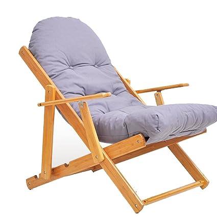 Amazon.com: Silla de salón YNN Lazy silla plegable sofá ...