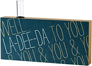 product image for Danielson Designs La-Dee-Da Bud Vase Sign