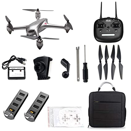ElementDigital MJX Bugs 2 SE GPS Drone App Operation iOS Android FPV Drone  Kit 1080P Camera Record Video 1-Key RTH Altitude Hold Track Flight Headless