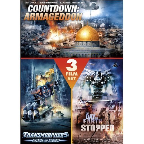 Countdown: Armageddon / Transmorphers: Fall of Man / The Day the Earth Stopped (3 Film Set) by Echo Bridge Home Entertainment by Echo Bridge Home Entertainment