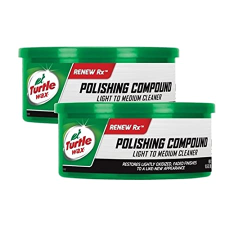 Turtle Wax scratch remover and Polishing Compound