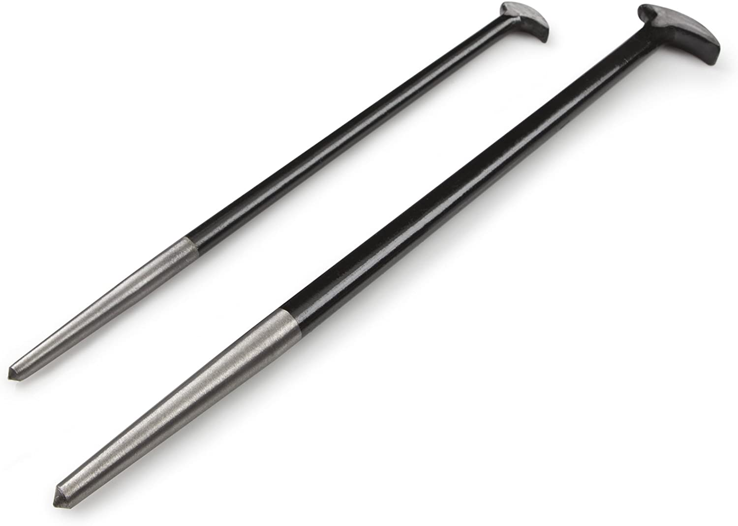 TEKTON 3344 Rolling Head Pry Bar Set 2-Piece
