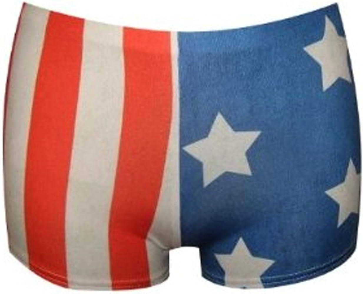 La Bandera de Estados Unidos diseño de Estrellas y diseño de Rayas Sexy Fancy Hot Pantalones Cortos Pantalones de e Instrucciones para Hacer Vestidos: Amazon.es: Ropa y accesorios