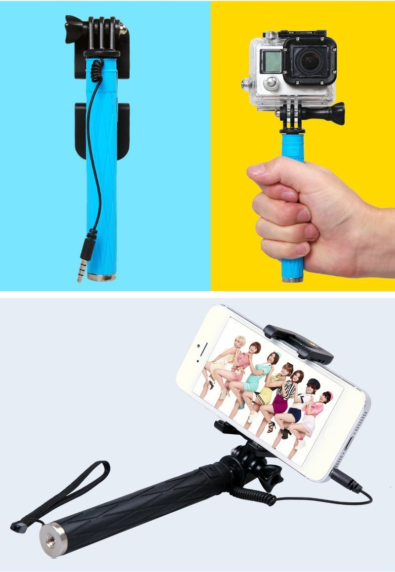 Amazon.com: Yoku Mini Size Selfie Stick,15.5cm World\'s Super Mini ...