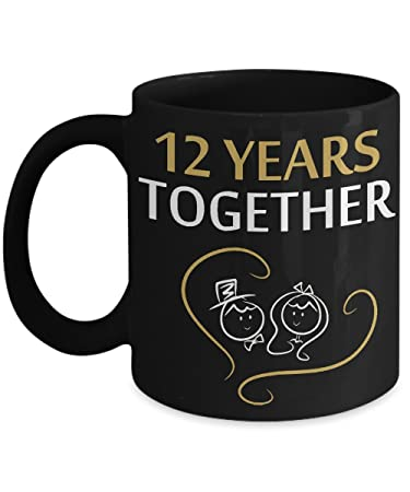 Amazon 12 Years Together 12 Wedding Anniversary Gifts