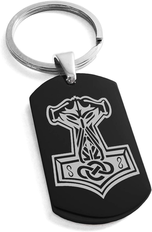 Amazon Com Black Stainless Steel Mjolnir Thor S Hammer