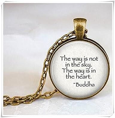 Citation De Bouddha Le Chemin N Est Pas Dans Le Ciel
